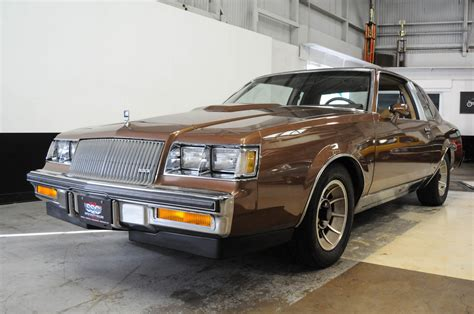 Car Types Beginning With T by 1987 Buick Regal T Type For Sale