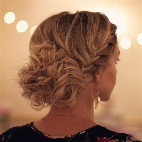 lace fishtail into a fishtail bun mimiamassari hair fishtail braids into messy bun