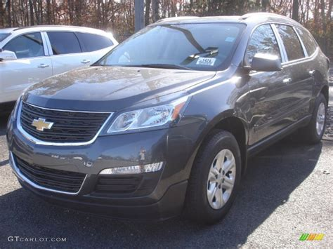 what color is tungsten metallic 2013 tungsten metallic chevrolet traverse ls awd 73347432