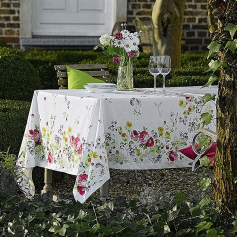 tischdecken zum abwischen tischdecke florale tischw 228 sche mit fleckenschutz
