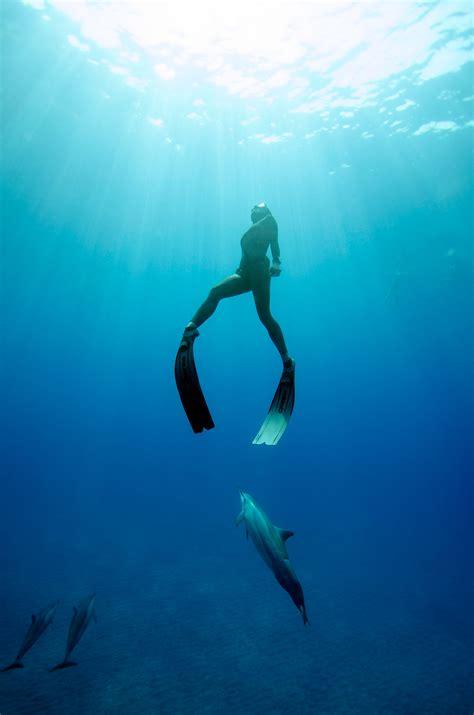 on a single breath freediving