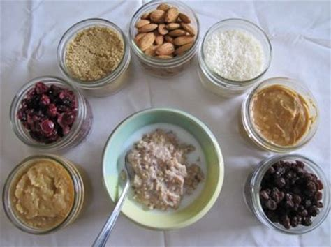 oatmeal toppings bar pin by susan coleman on breakfasts pinterest
