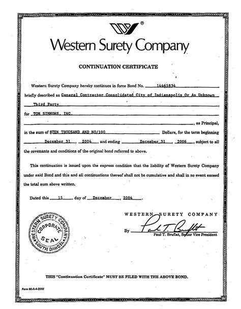 suretyship agreement template references 171 tom simmons inc