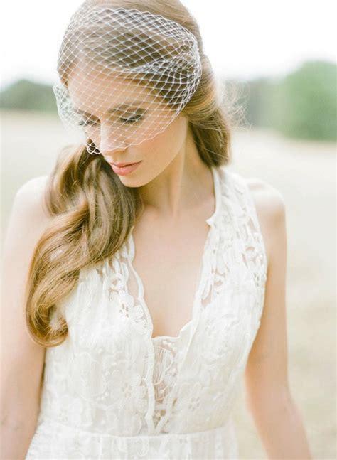 Handmade Birdcage Veil - birdcage veils and blusher veils