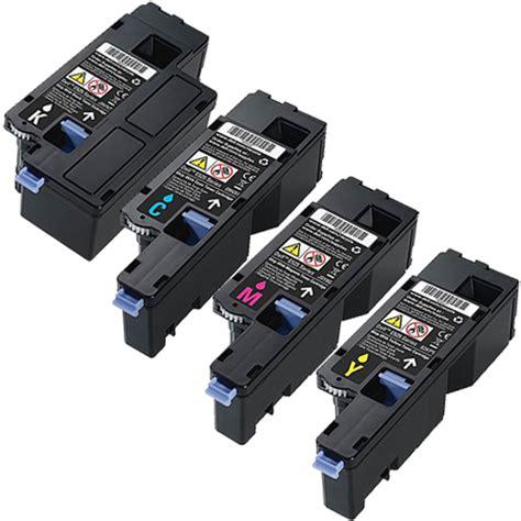 4 pack toner cartridge set for dell e525w e525 593 bbjx high yield ebay