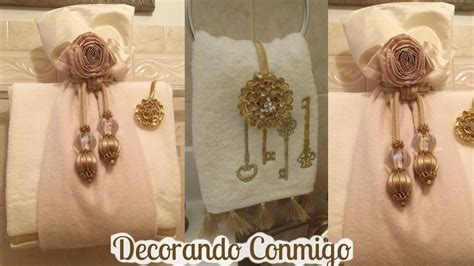 decoracion con toallas como decorar toallas de ba 241 o con elegancia sorangel