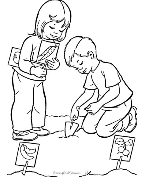 Galerry helping at home coloring pages