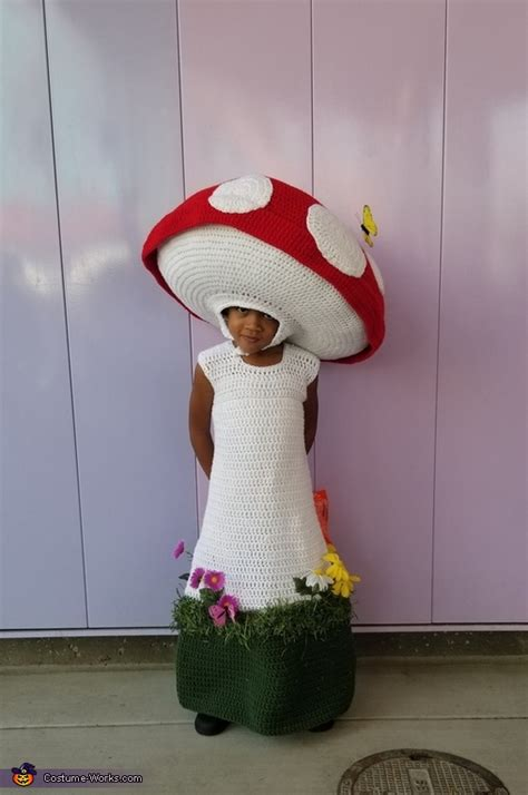 mushroom child halloween costume diy costumes