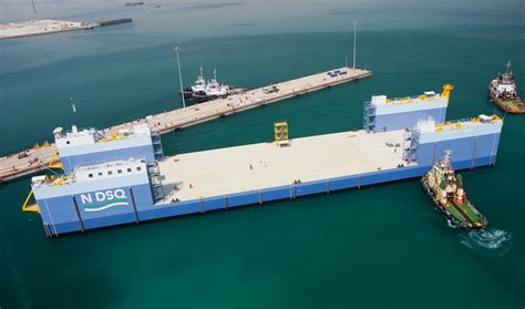 Building Home Plans by Load Out Recovery Barge With 13 000 Tonnes Of Lifting Capacity