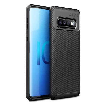 Samsung Galaxy S10 Zap by Olixar Carbon Fibre Samsung Galaxy S10 Plus Black