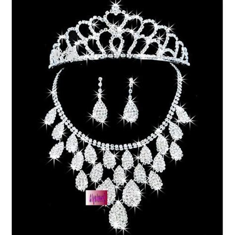 Set Tiara Cc 11 best wedding tiara with sets of jewelries images on