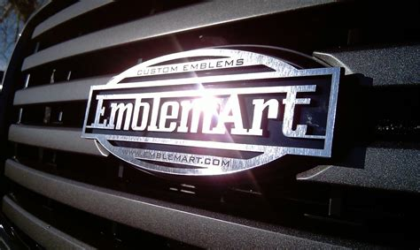 custom mitsubishi emblem chrome emblems emblemart custom car truck and hotrod
