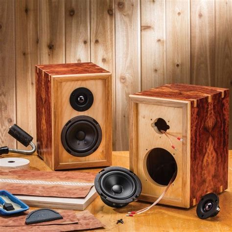 Build Your Own Stereo Cabinet by 1000 Ideas About Speaker Kits On Diy Speaker