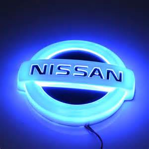 Led Nissan Logo Best Nissan Led Emblem Photos 2017 Blue Maize