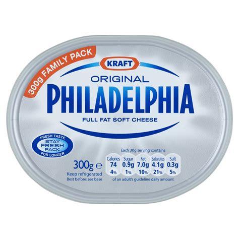 Cheese Philadelphia Kraft Original Philadelphia Soft Cheese 300g E