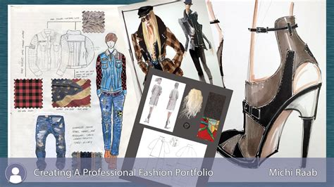 fashion design portfolio layout creating a professional fashion design portfolio