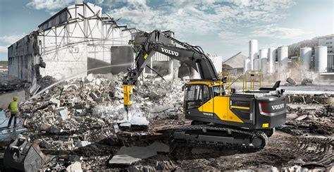 volvo rigs ec250e crawler excavators overview volvo