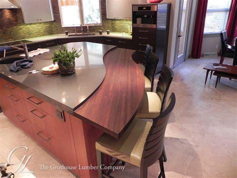Wood Countertops Denver peruvian walnut wood countertop in denver colorado