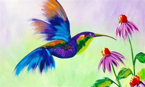 learn to paint acrylic on canvas acrylic paintings of flowers and birds www pixshark