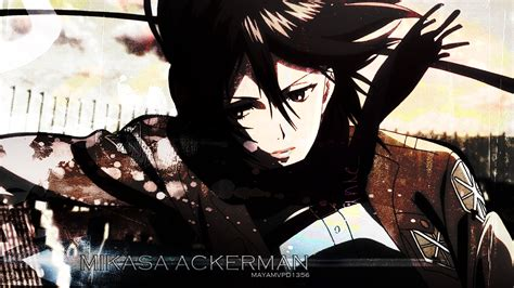Kaos Attack On Titan Snk Gray Special 2 Ka Snk 17 mikasa ackerman snk wallpaper by mayamvpd1356 on deviantart