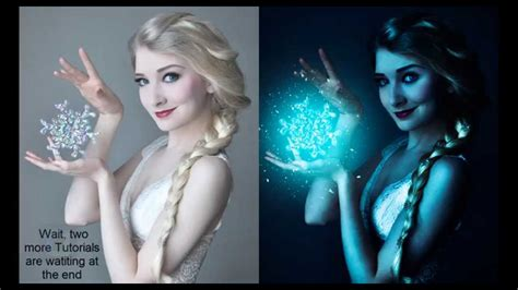 tutorial photoshop photo effect indonesia frozen lighting effect photoshop tutorial photo