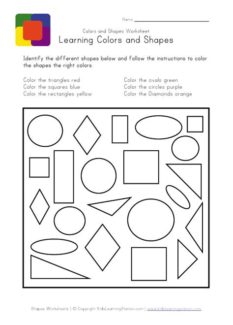 free printable learning shapes coloring pages shapes learning printable worksheet keep