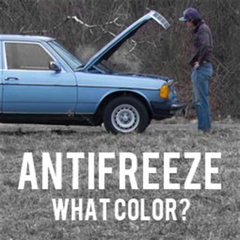 volvo coolant color green orange yellow blue what color coolant should i
