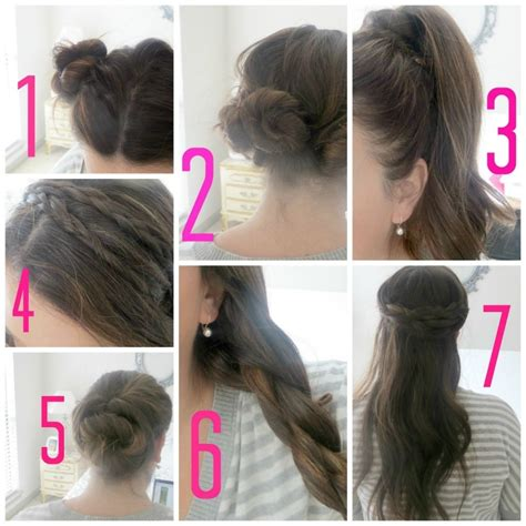 teen hairstyles step by step easy hairstyles for school for teenage girls step by step