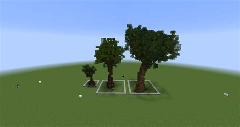 Handmade Minecraft - minecraft custom tree pack 1 cubecraft