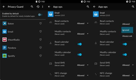 cyanogen os privacy guard keeping apps from seeing your data android central - Android Privacy Guard