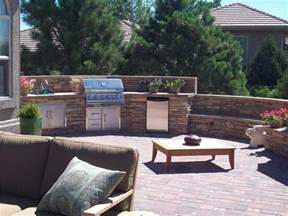 Backyard Grill Landscaping Terraced Backyard Design With Radius Walls Landscaping