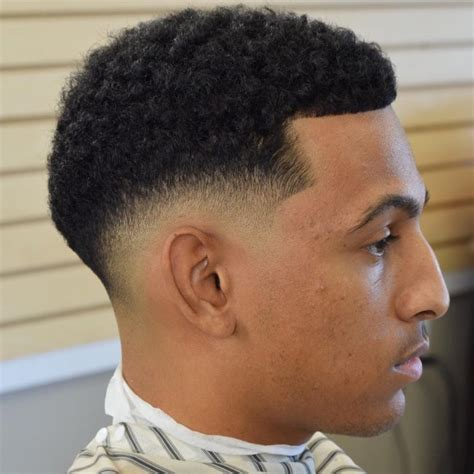 low taper afro black men 50 fade and tapered haircuts for black men