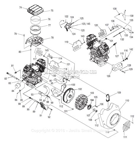 generac parts diagram generac 4666 1 parts diagram for engine ii