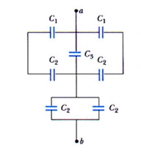 why capacitor is not connected in series general physics ii