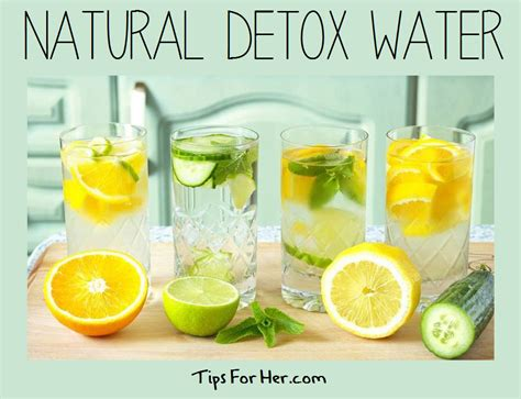 Detox By Putting In Water by How To Detox In 1 Day Using A 5 Day Cleanse Lose Belly