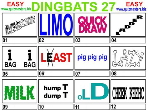 quiz questions dingbats index of db pic dingbats gfx