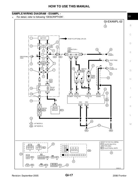 Nissan Frontier Cooling System Diagram - General Wiring