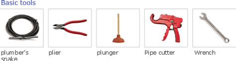 Common Plumbing Tools by Plumbers Tools And Equipment Project Look Its Bargains