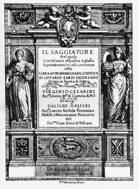 Il Saggiatore – Wikipédia, a enciclopédia livre
