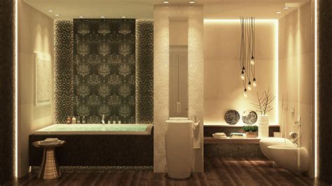 Design Bathroom by Luxurious Bathrooms With Stunning Design Details