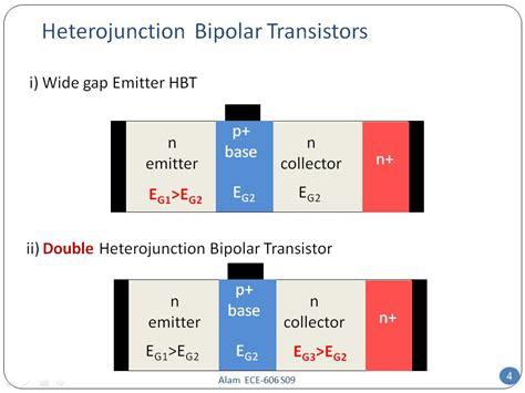 heterojunction bipolar transistor applications nanohub org resources ece 606 lecture 30 heterojunction bipolar transistors i