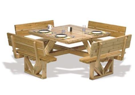 square picnic table plans square picnic table plan picnic table plans picnic