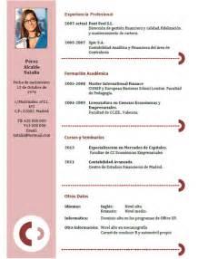 E Cv Online ejemplos y plantillas de curriculum en ingl 233 s trabajar en