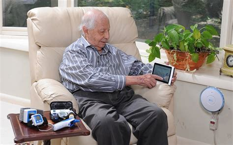 how to use technology to make aging at home easier in