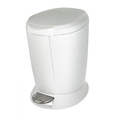 White Plastic Bathroom Bin by Simplehuman Plastic Bathroom Bin White 6l