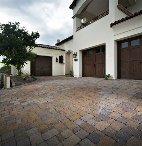 Backyard Slope Landscaping Ideas How To Remove Oil Stains From Concrete Pavers Step By