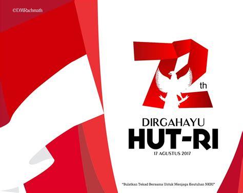 Kaos Tshirt Hut Ri Ke 72 Agustus 1 Putih hut ri 72 logo imahku studio imahku desain