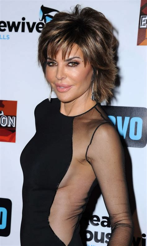 hair style from housewives beverly hills lisa rinna at the real housewives of beverly hills s 6
