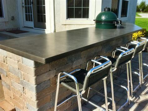 cement bar top concrete bar top my future home pinterest