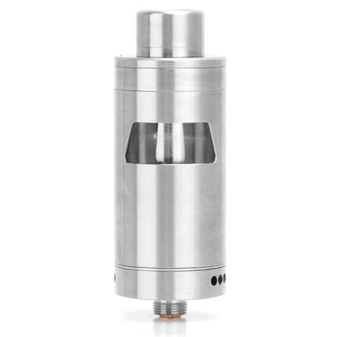 authentic wotofo conqueror rta 4ml silver rebuildable tank atomizer